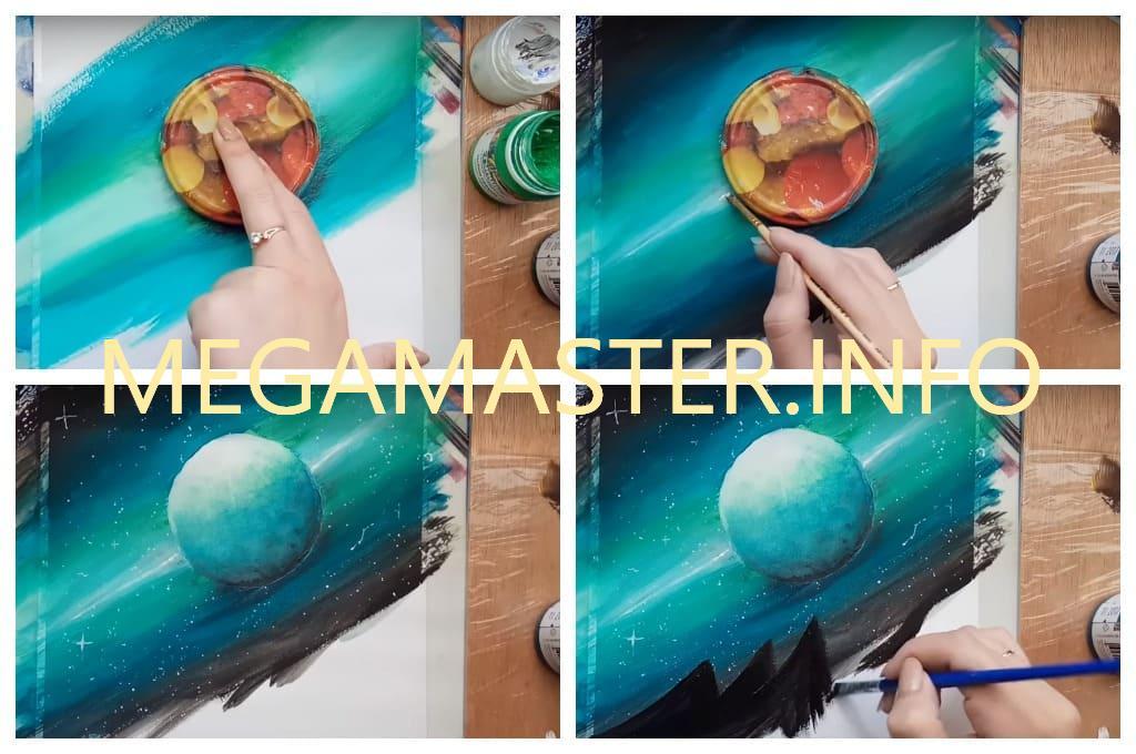 Рисунки для срисовки планеты (15 фото).