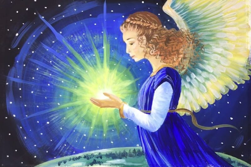 Как нарисовать ангела карандашом поэтапно для начинающих