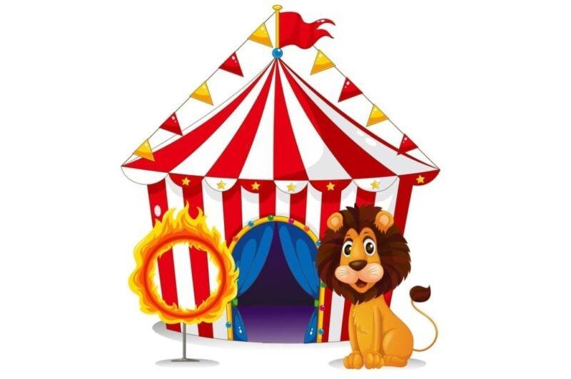 Как нарисовать цирк красиво для детей