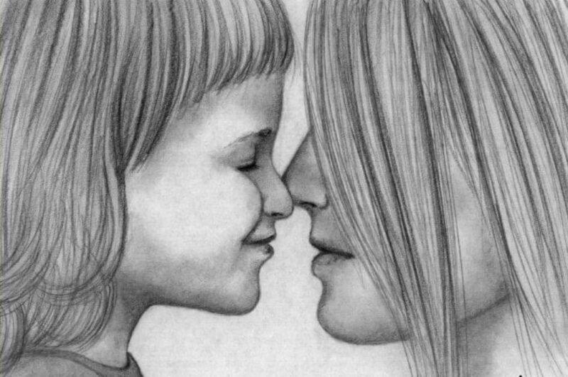 Как нарисовать маму красиво и легко поэтапная инструкция