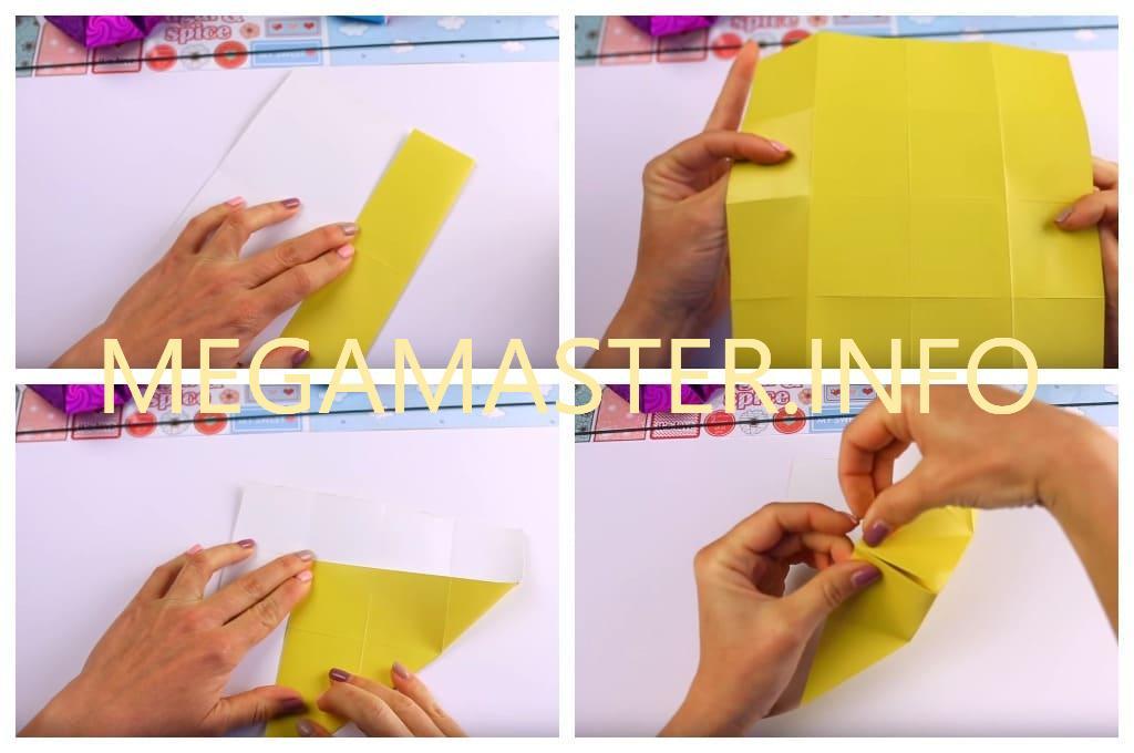 Интересные поделки из бумаги для детей 5 6 лет (Шаг 2)