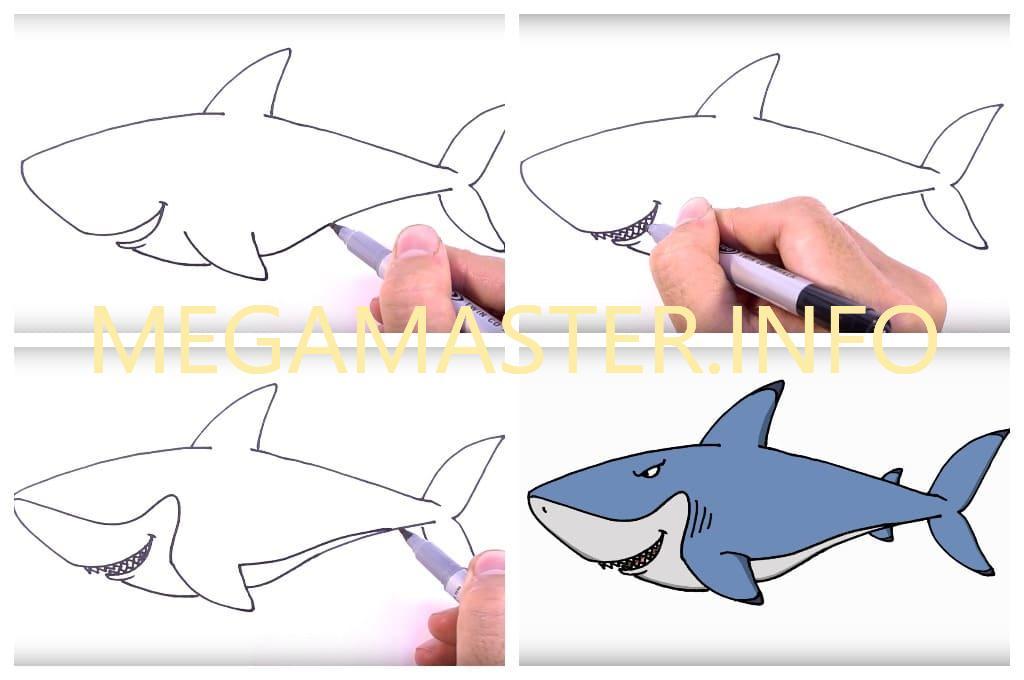 ничего картинки акула схемы из бумаги надеюсь