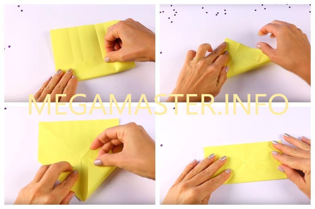 Корзинка в технике оригами (Шаг 2)