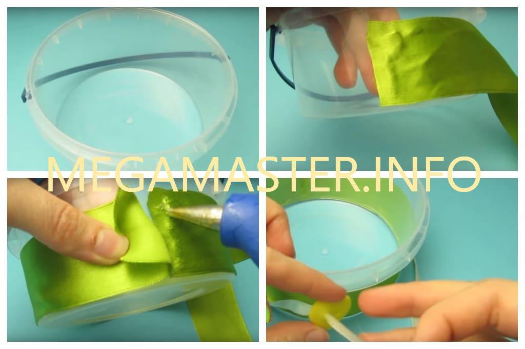 Пасхальная корзинка из подручного материала (Шаг 1)