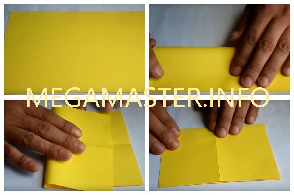 Подставка для телефона в технике оригами (Шаг 1)