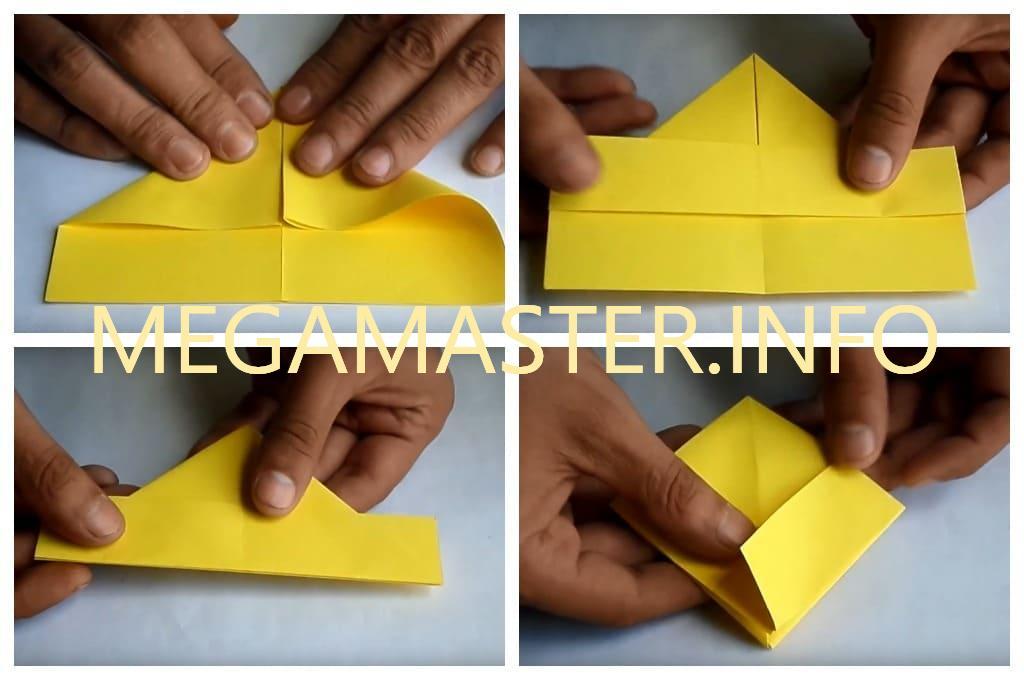 Подставка для телефона в технике оригами (Шаг 2)