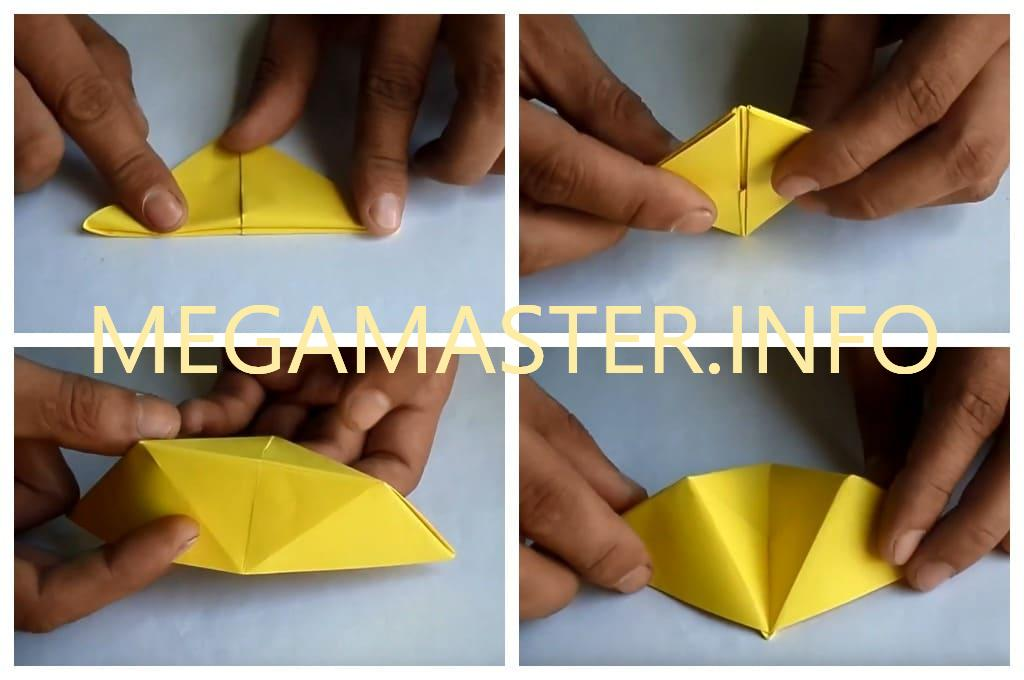 Подставка для телефона в технике оригами (Шаг 3)