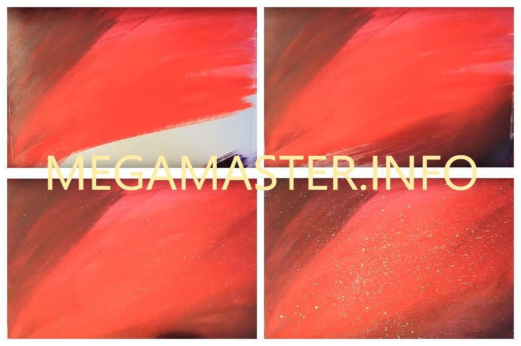 Марс рисунок красками (Шаг 1)