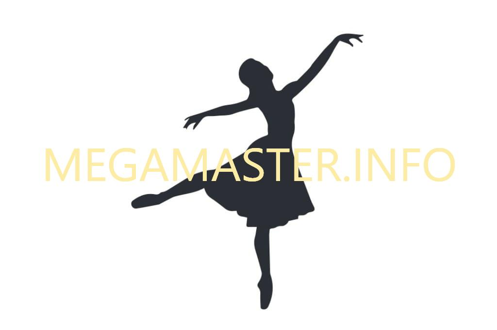 Яркая картина с балериной (Шаблон)