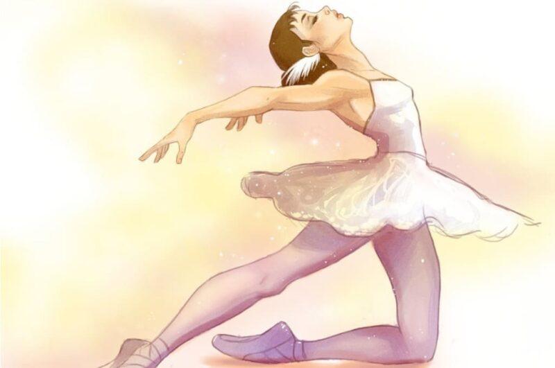 Как нарисовать балерину легко и просто поэтапно