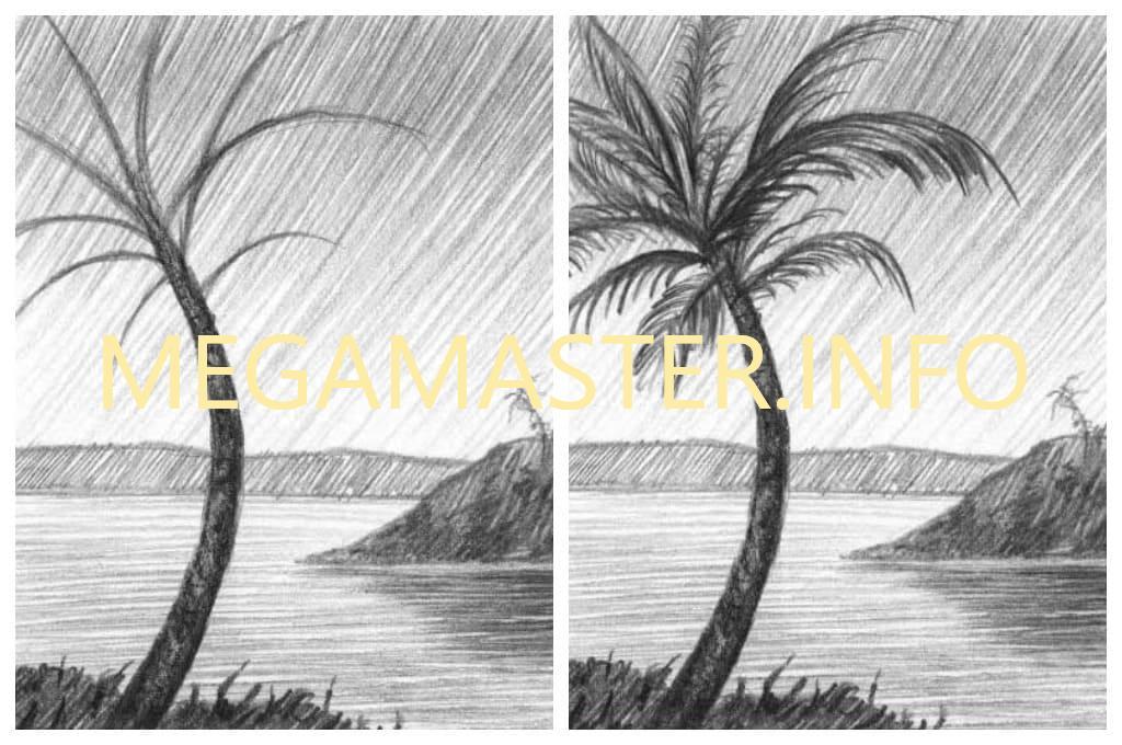 Картина простым карандашом (Шаг 4)