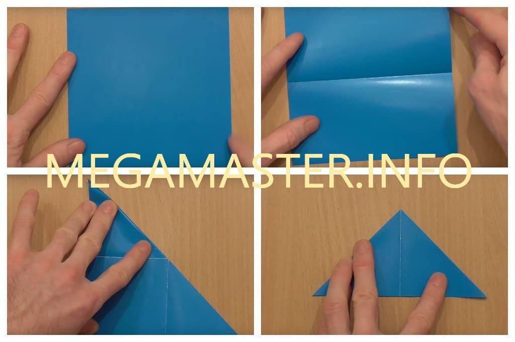 Летающая ракета из цветного картона (Шаг 1)
