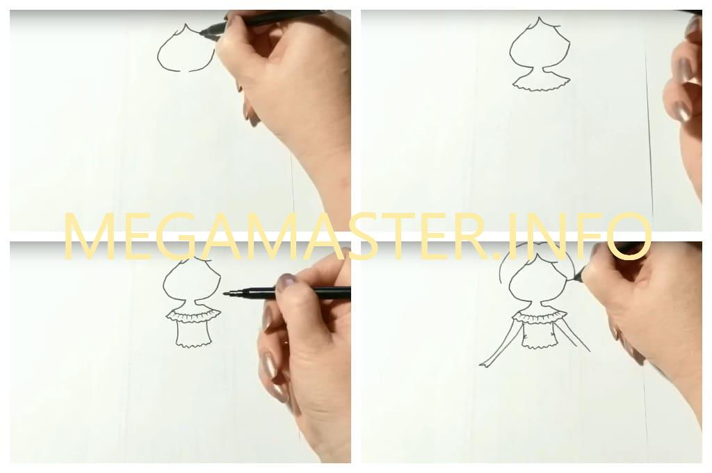 Необычный рисунок (Шаг 1)
