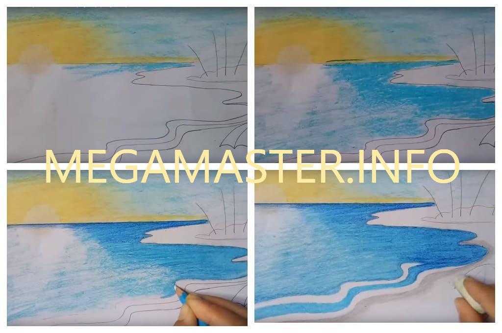 Рисуем красивый пейзаж (Шаг 3)