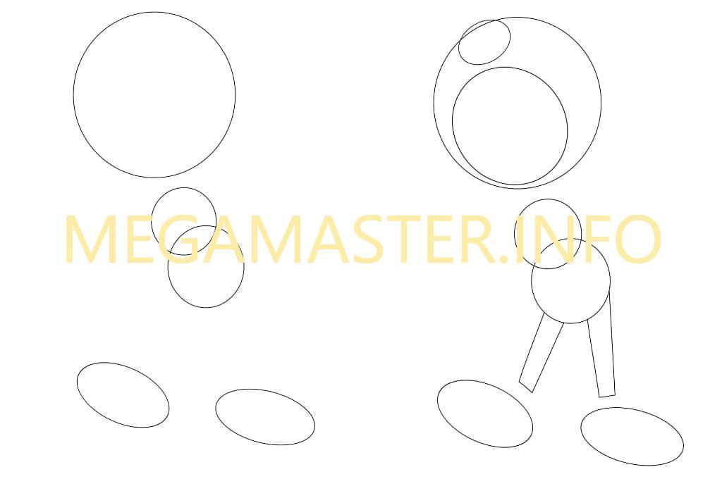 Рисуем по простой инструкции (Шаг 1)