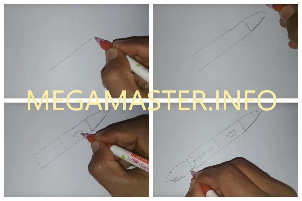Рисуем простым карандашом (Шаг 1)
