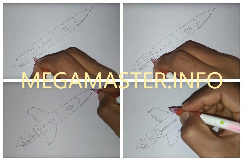 Рисуем простым карандашом (Шаг 2)