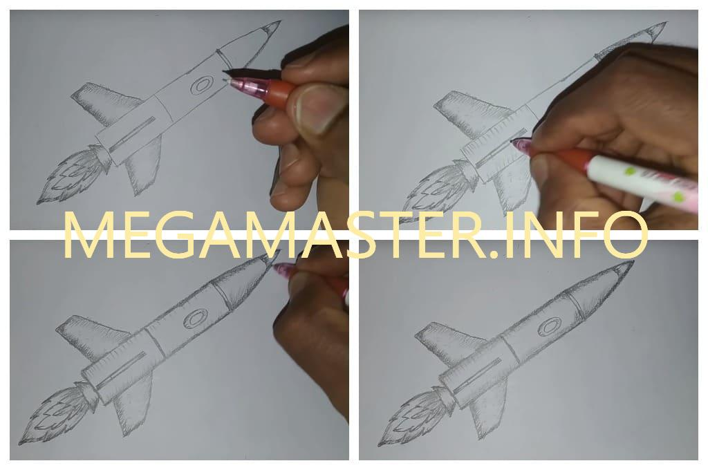 Рисуем простым карандашом (Шаг 3)