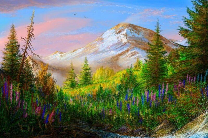 Как нарисовать природу легко и красиво