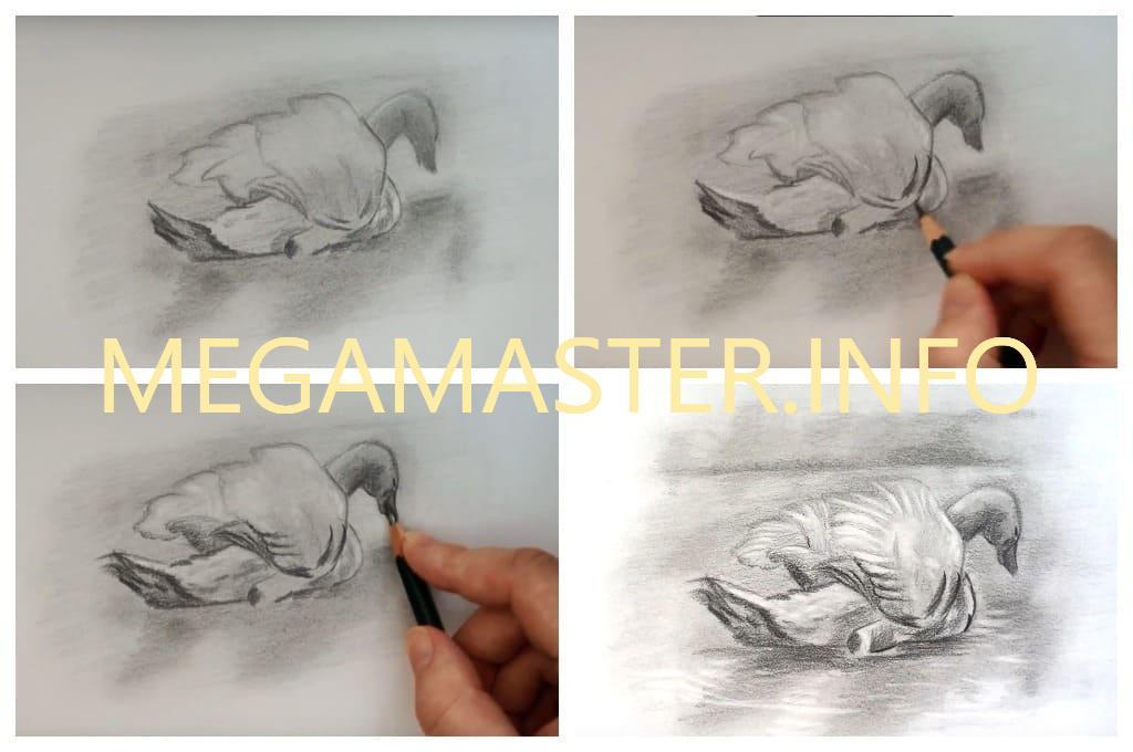 Необычный рисунок простым карандашом (Шаг 3)