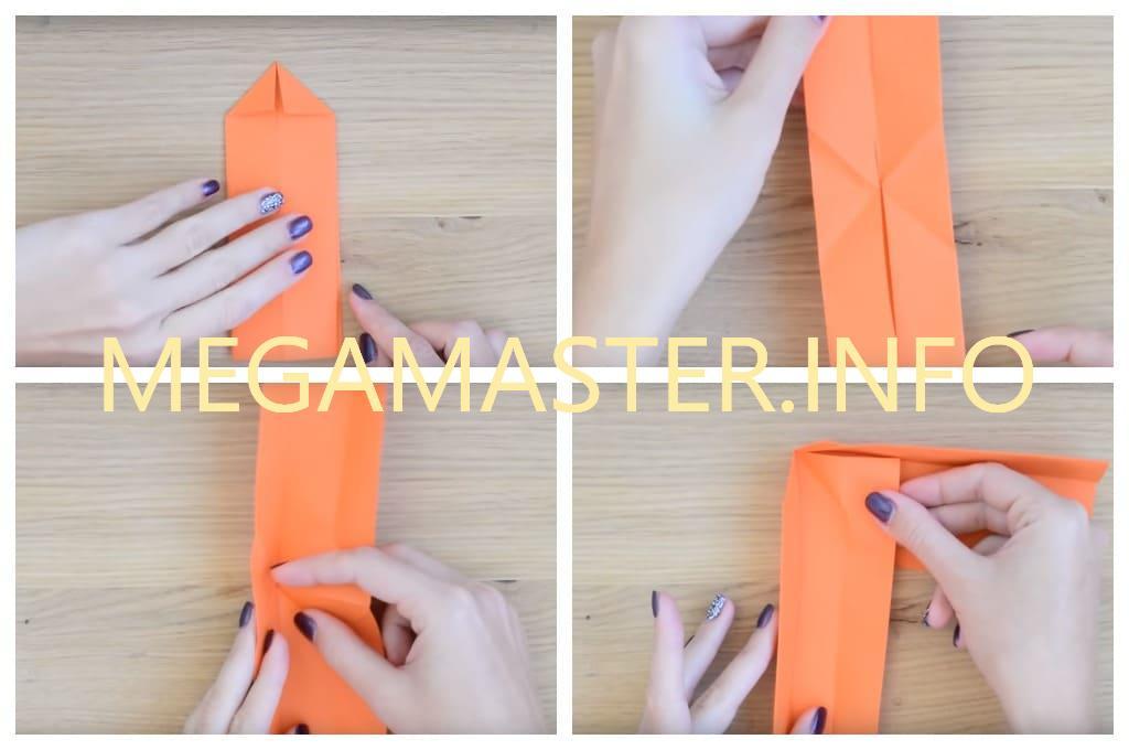 Делаем простой бумеранг из бумаги для деток (Шаг 3)
