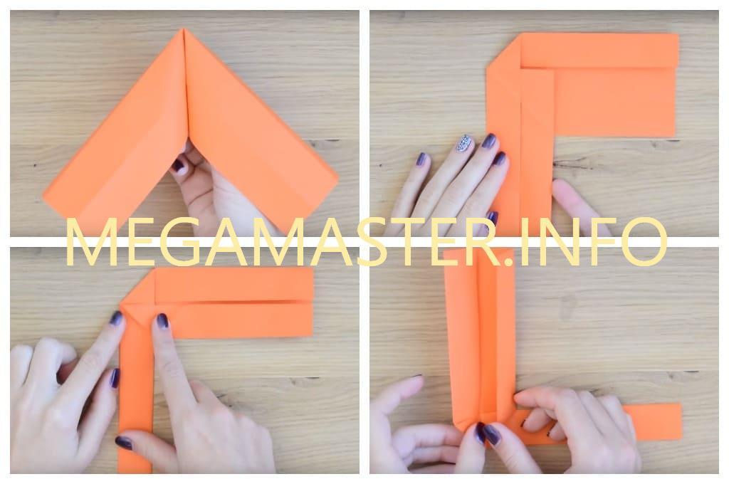 Делаем простой бумеранг из бумаги для деток (Шаг 4)