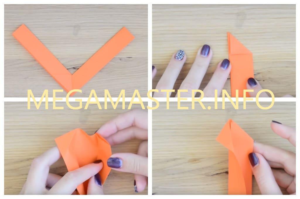 Делаем простой бумеранг из бумаги для деток (Шаг 5)