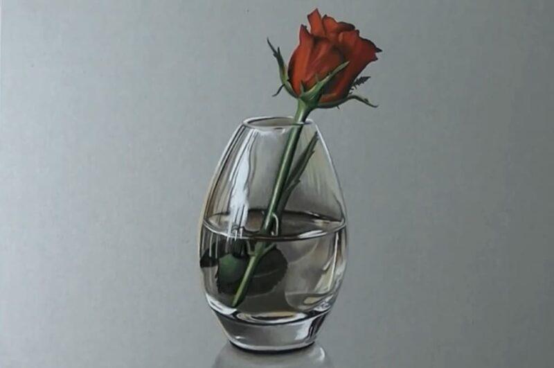 Как нарисовать вазу карандашом поэтапно для начинающих