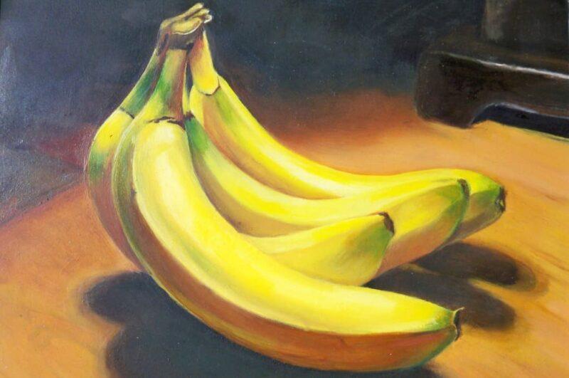 Как нарисовать банан карандашом поэтапно для начинающих