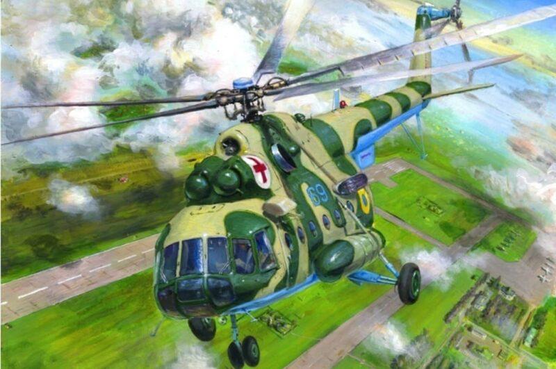 Как нарисовать вертолёт карандашом поэтапно разными способами