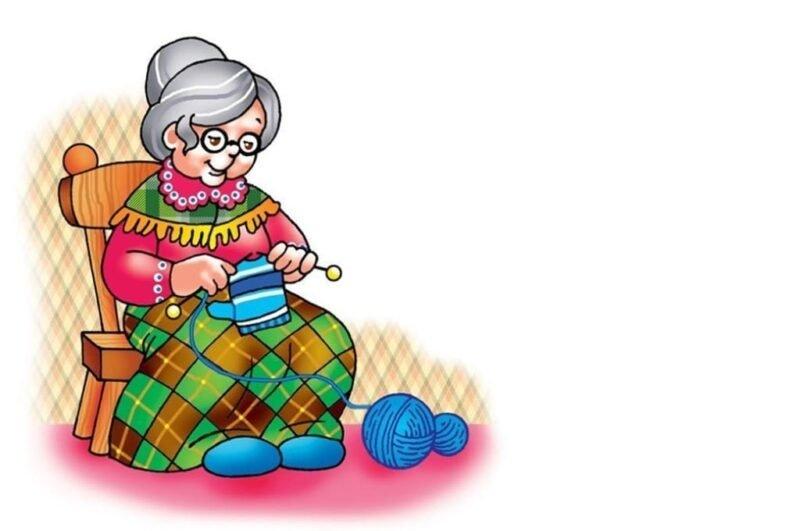 Как нарисовать бабушку легко карандашами детям