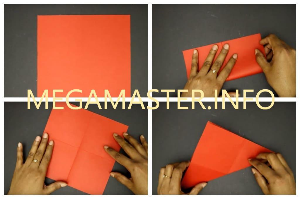 Раскладная открытка (Шаг 1)