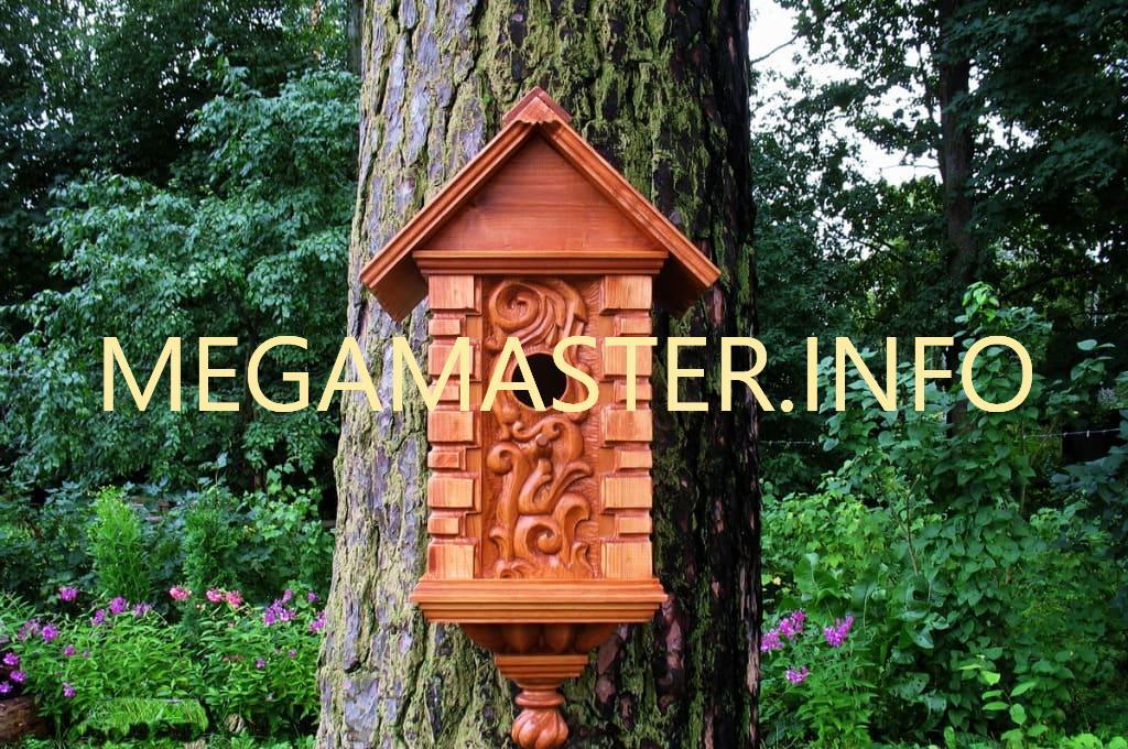 Как украсить скворечник (резьба по дереву)