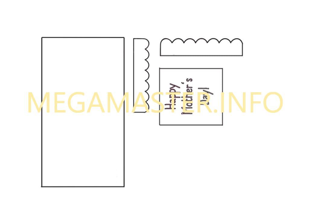 Скворечник из бумаги (Шаблон 2)
