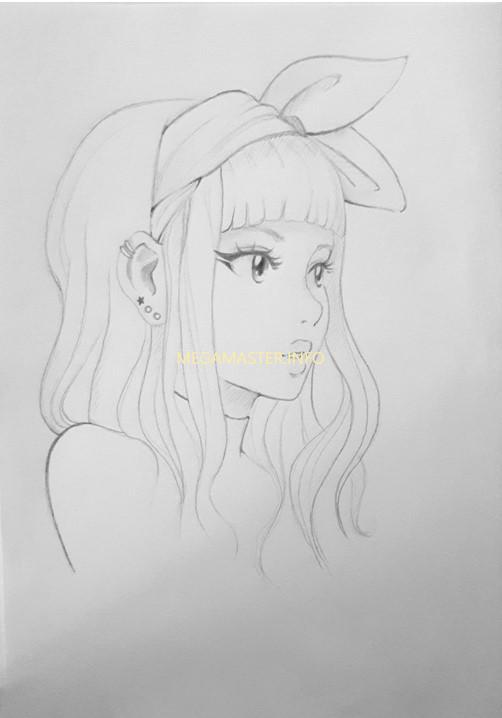 Как нарисовать рисунок в стиле аниме